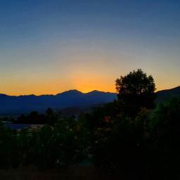 deserthotsprings desert socal hot sunset