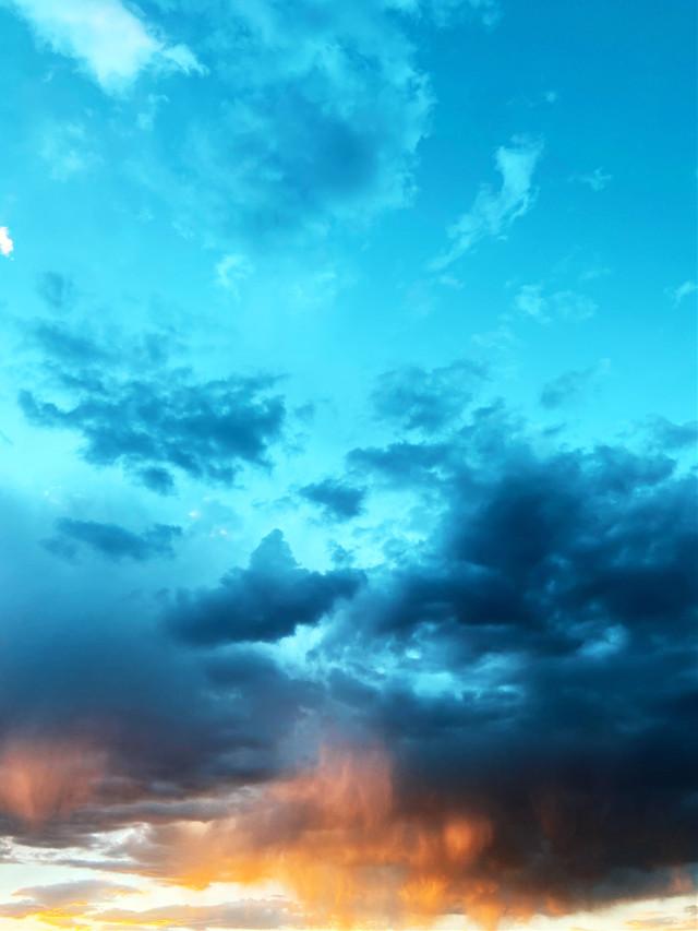 #freetoedit #remixit #picsart #clouds #cloudy #sunset #sunrise #sky #blue #orange #sun #stars #night #milkyway #silhouette #png #fog #desert #background #color