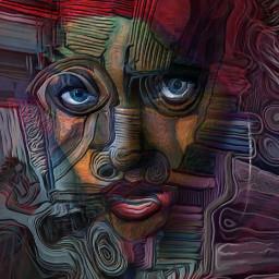 masks maschera digitalpainting