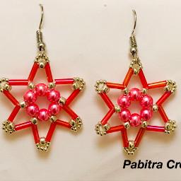 earrings earringsoftheday beadedearring art