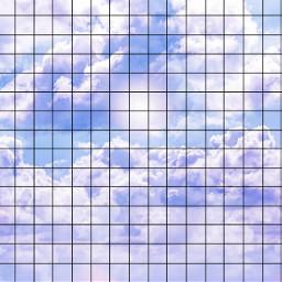freetoedit grid background blue clouds