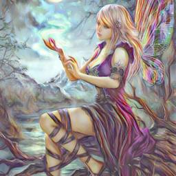 freetoedit @asweetsmile1 warrior warriorwoman women
