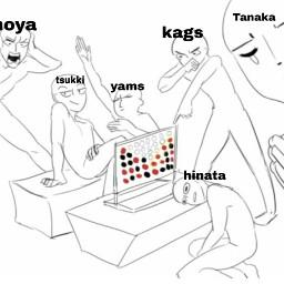 freetoedit kageyama hinata tsukishima yamaguchi