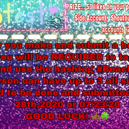 freetoedit beach_vibes goodluck compete win