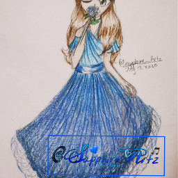 girl drawing girldrawing sketch character freetoedit