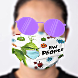 freetoedit sunglasses mask facemask grinch