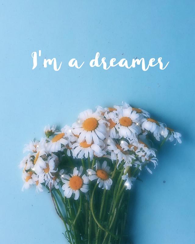 #freetoedit #aesthetic #bling #white #flower #happy #dream #dreams
