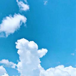 freetoedit clouds skylover naturephotography sunnyday