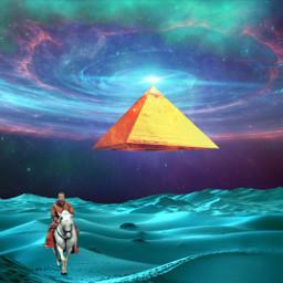 freetoedit surreal pyramid myedit sand