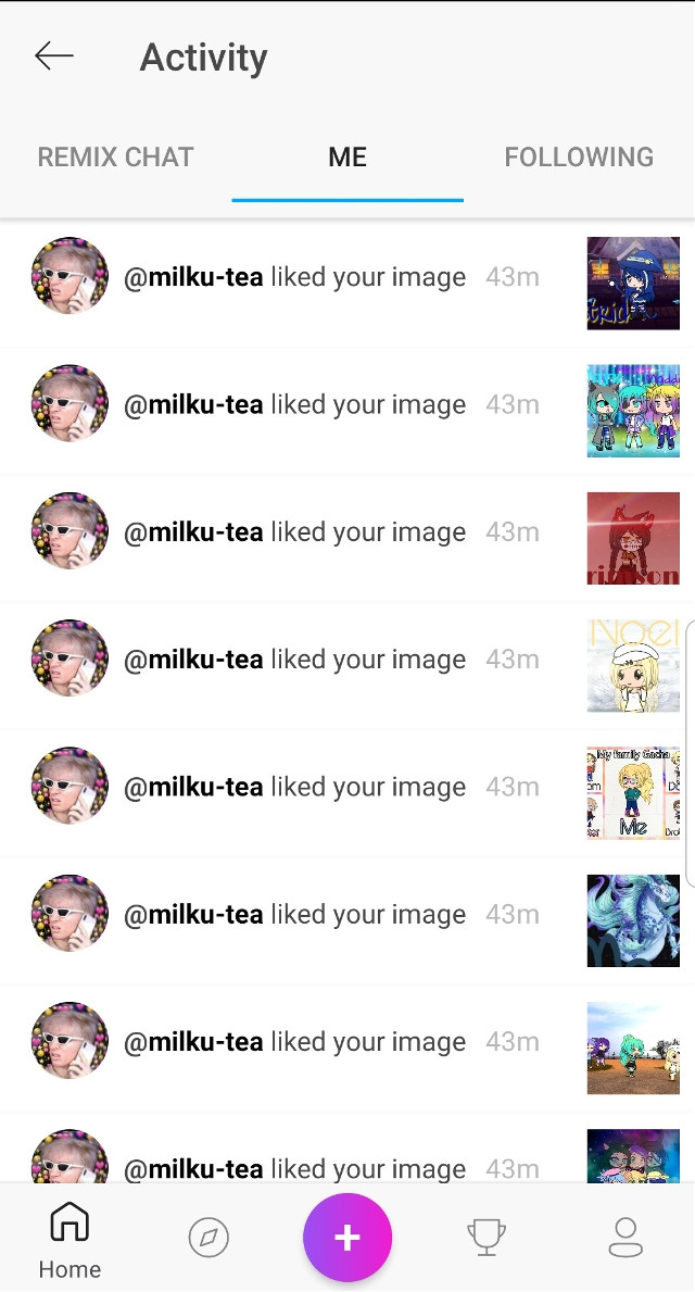 #freetoedit Thanks for the spam @milku-tea I guess