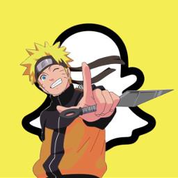 freetoedit naruto narutouzumaki anime snapchat