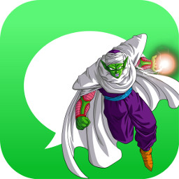 piccolo dbz dragonball messages icon