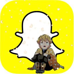 freetoedit zenitsu zenitsuagatsuma anime snapchat