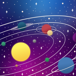 universe galaxy space frame freetoedit ftestickers