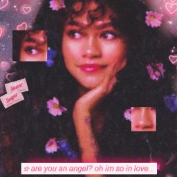 freetoedit zendaya y2k angel aesthetic