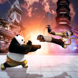 freetoedit kungfupanda dreamworks animation fanart