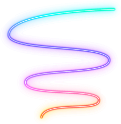 neon spiral colors aesthetic freetoedit