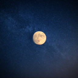 goodnight freetoedit moon backround sky