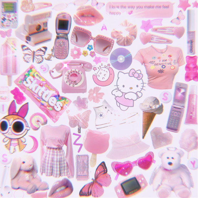 Some girly things 🧚♀️🌸💓hey guys im so sorry for not being active!! I hope everyones safe and doing well 🥺                    #pink #pinkaesthetic #pinky #80s #bling #hellokitty #blossom #aesthetic #aestheticedit #aestheticpink #pinkvibes #dontmindme #iknowimcringyforthesetags:) #skittles #butterfly #gameboy #80saesthetic