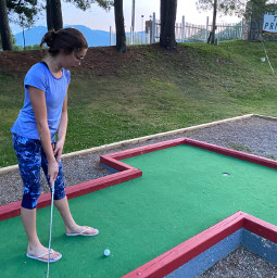 golfing waynesville summertime