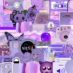 purple background aesthetic collage backgrounds freetoedit