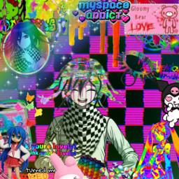 freetoedit scenecore glitchcore kidcore rainbowcore