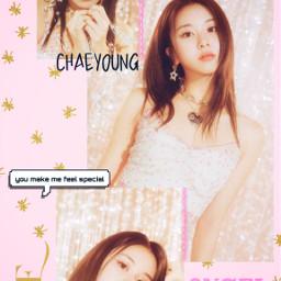 chaeyoung twice kpop kpopedit pink freetoedit