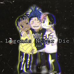 freetoedit legends xxxtentacion lilpeep juicewrld