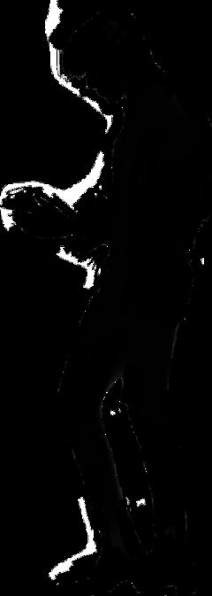 freetoedit jungkook silhouette tiktok kookie