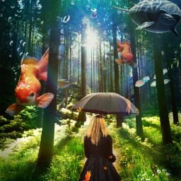 freetoedit surreal fantasy madewithpicsart photomanipulation