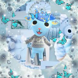 sherb acnh animalcrossing blue