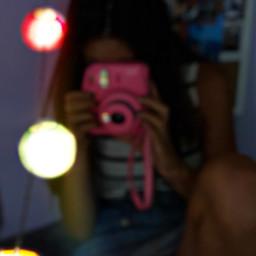 fairylights polaroid
