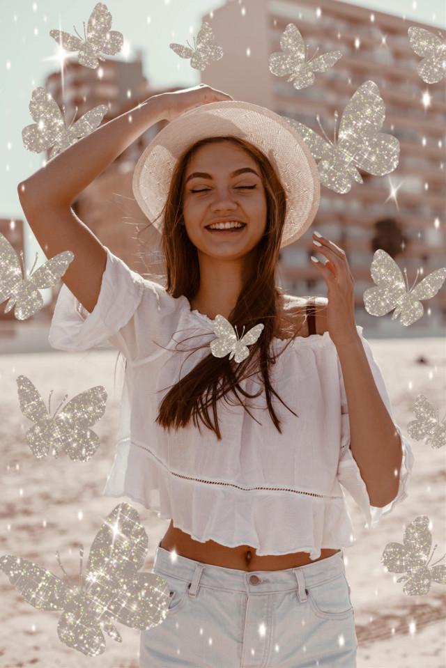 #freetoedit #glitter #sparkle #butterfly #aesthetic #bling
