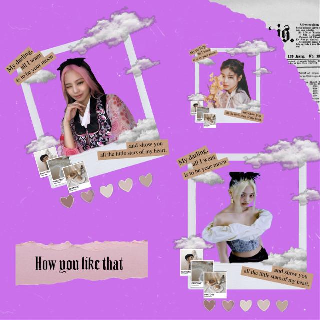 𝐣𝐞𝐧𝐧𝐢𝐞 𝐤𝐢𝐦 💜 #jennie #jennieedit #blackpink #howyoulikethat #interesting #art #aesthetic #edit #purple #instax #loveislove #france #freetoedit