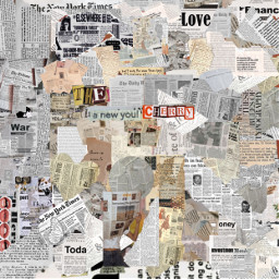 freetoedit newspaper vintage aesthetic wallpaper