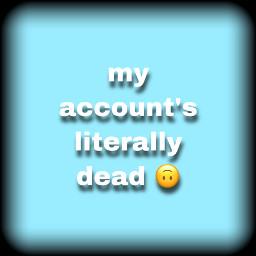 followme account dead boring sad freetoedit