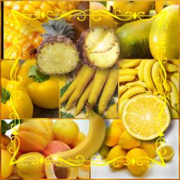 freetoedit foods yellow ccyellowaesthetic yellowaesthetic