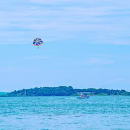 freetoedit outdoorphotography adventuretime parasailing