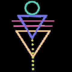 geometric sticker boho freetoedit tattoo