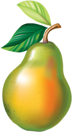 freetoedit fruit pear