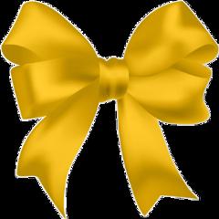 freetoedit yellowaesthetic yellow bows yellowbow
