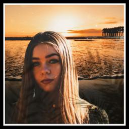 freetoedit summer beach girl