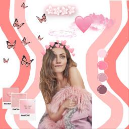 pink hayleymarshall freetoedit