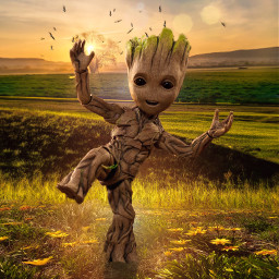 babygroot freetoedit marvel heroes superheroes
