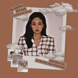 jennie blackpink kpop brown aesthetic freetoedit