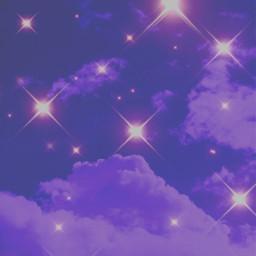 purple clouds lights purpleclouds background freetoedit