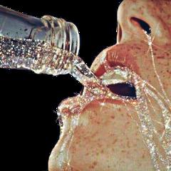 freetoedit liquid mouth lips bottle
