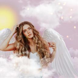 freetoedit angel pink