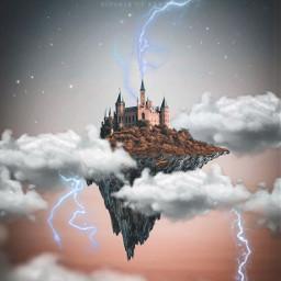 freetoedit edit france thunder thunderclouds