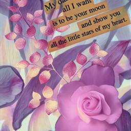 freetoedit darling rose love pinkaesthetic